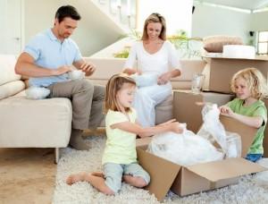 demenagement famille