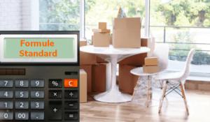 prix formule standard déménagement